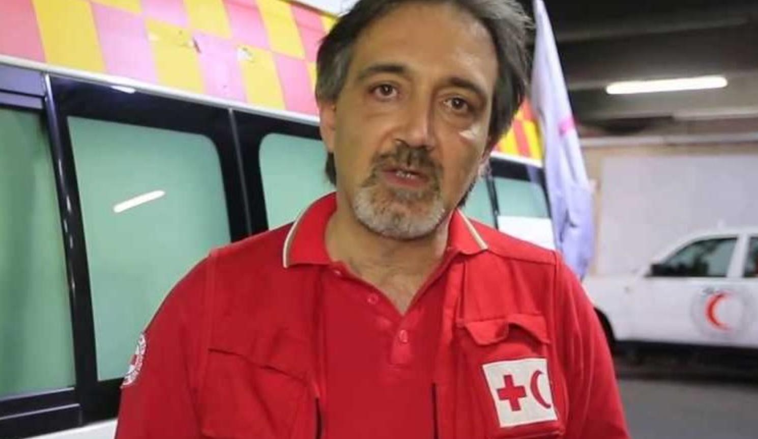 رئيس الصليب الأحمر الإيطالي، فرانشيسكو روكّا