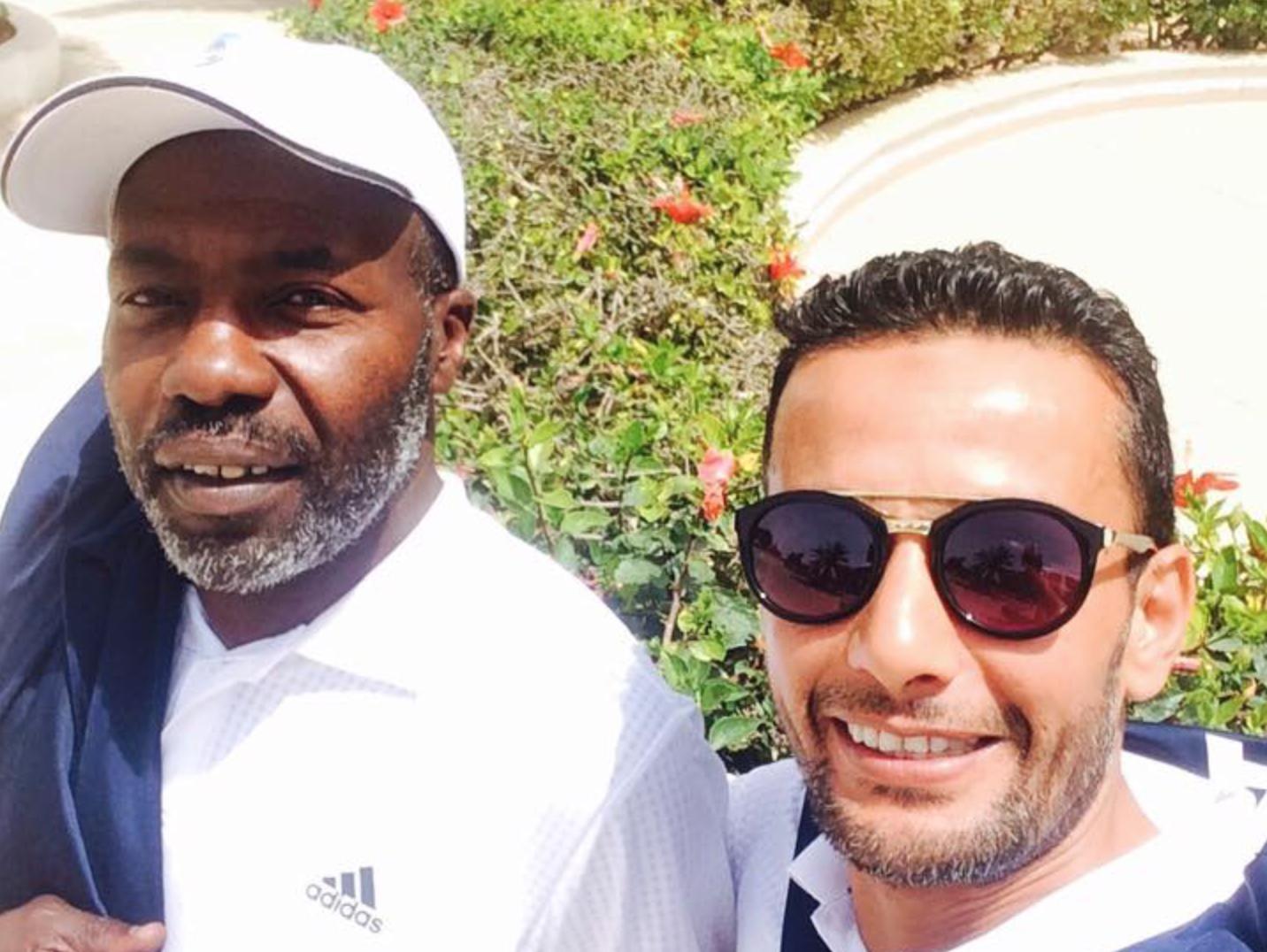 خالد حسين و فوزي العيساوي