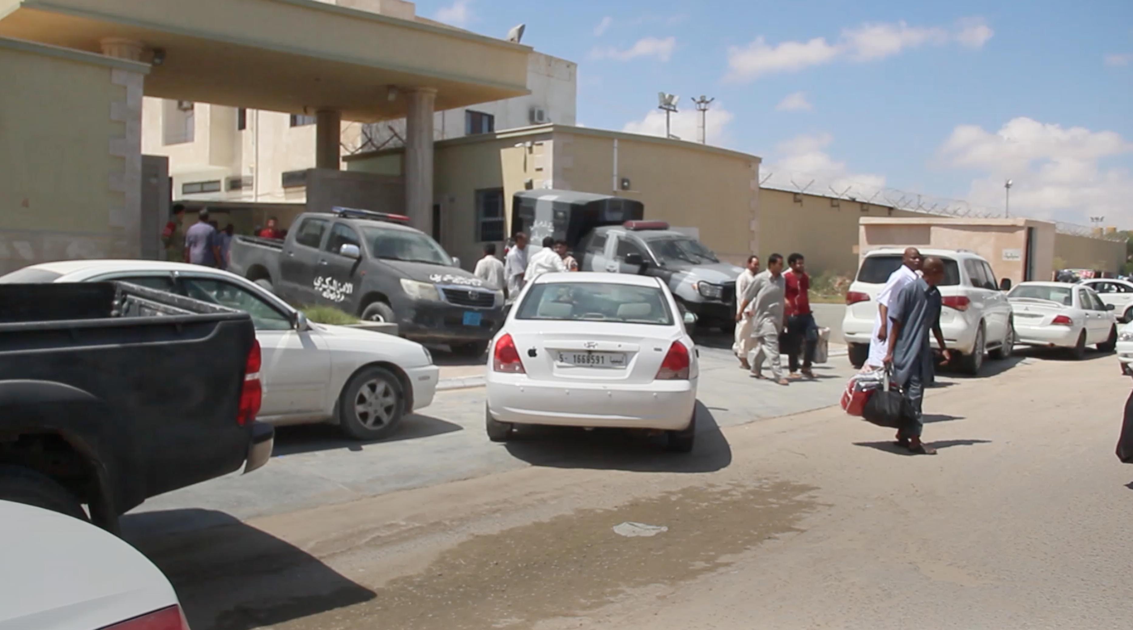 السجن العسكري بمصراتة