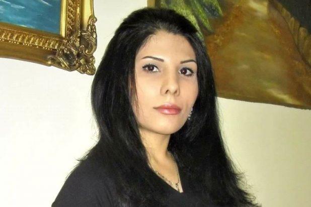 الصحفية الإيرانية ندى أمين