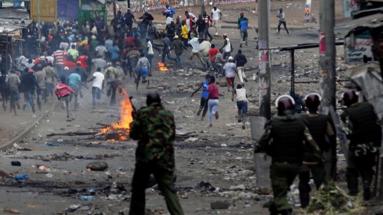 المعارضة الكينية