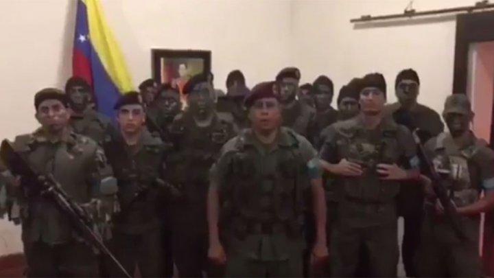 انتفاضة في مدينة بفنزويلا