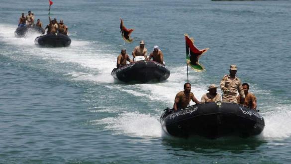 Photo of تدريبات للبحرية الليبية والإيطالية خارج المياه الإقليمية