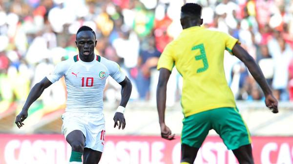 إعادة مباراة جنوب إفريقيا والسنغال