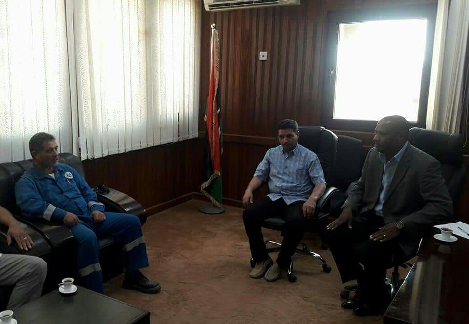 اجتماع أعضاء المجلس البلدي جالو