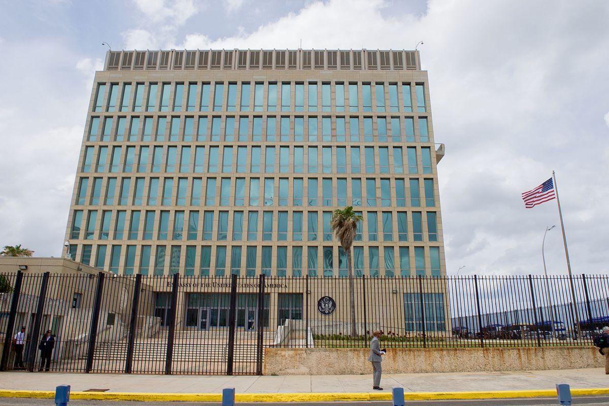 سفارة واشنطن في هافانا