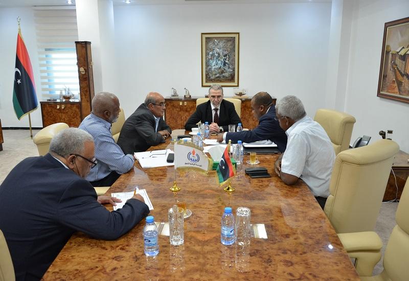 """Photo of """"الوطنية للنفط"""" تخصص لـ""""زلاف ليبيا"""" قطعا استكشافية وحقول"""