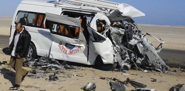 حادث مروري بمصر