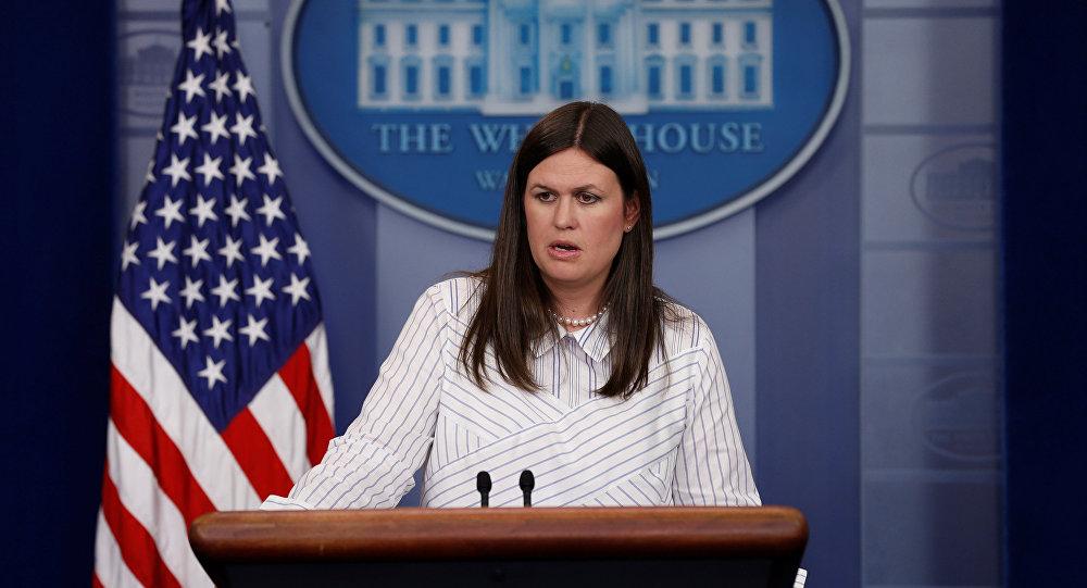 متحدثة باسم البيت الأبيض سارة ساندرز