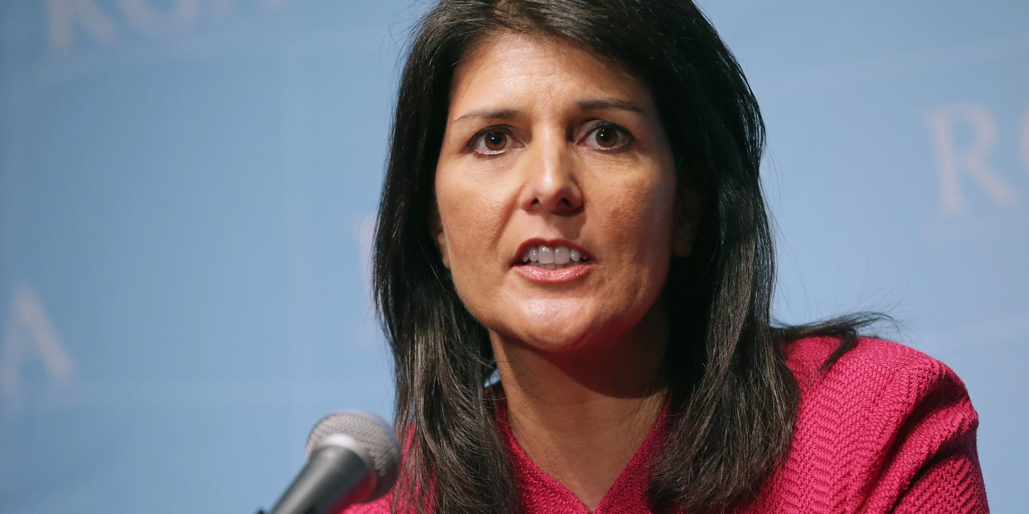 سفيرة أمريكا بالأمم المتحدة