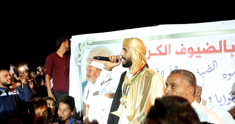 محمد اشهوب الفائز بشاعر ليبيا بالموسم الثاني