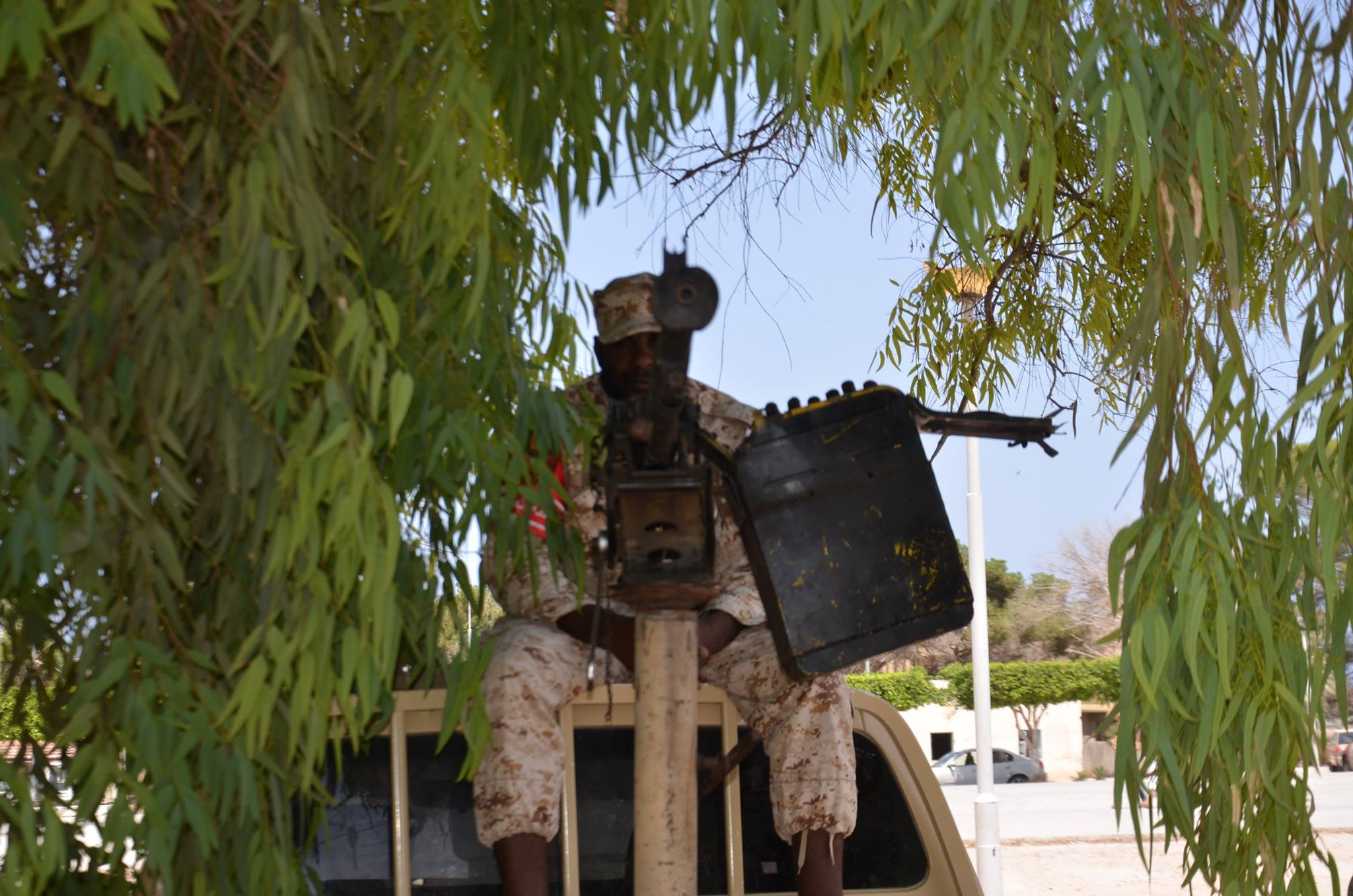 غرفة عمليات محاربة تنظيم داعش في صبراتة