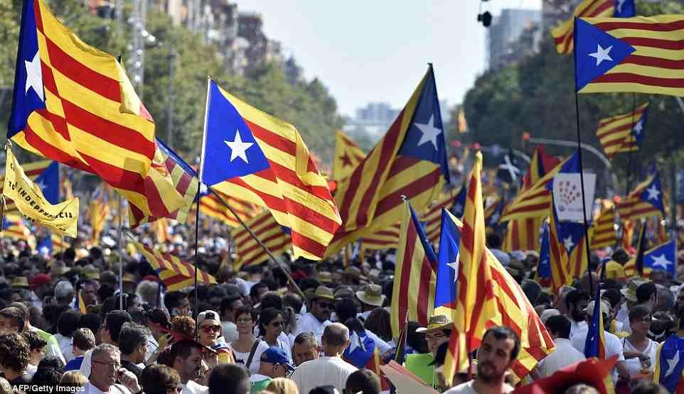 """صورة """"15%"""" من الكاتالونيين يتوقعون """"الاستقلال"""" في النهاية"""