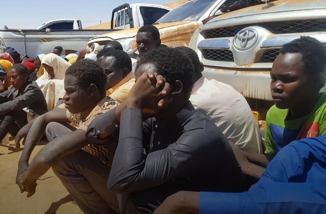 عمليات القطرون تحتجز 61 مهاجرا بالمنطقة الحدودية