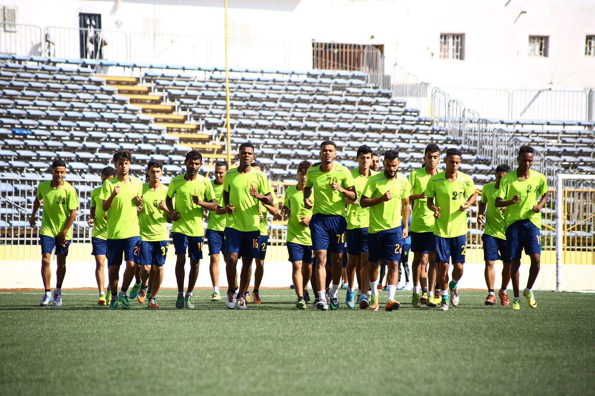 فريق النصر أمام ضيفه الأخضر