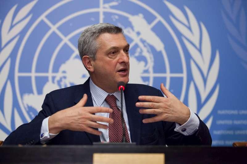 نتيجة بحث الصور عن المفوض السامي بالأمم المتحدة لشؤون اللاجئين، فيليبو غراندي