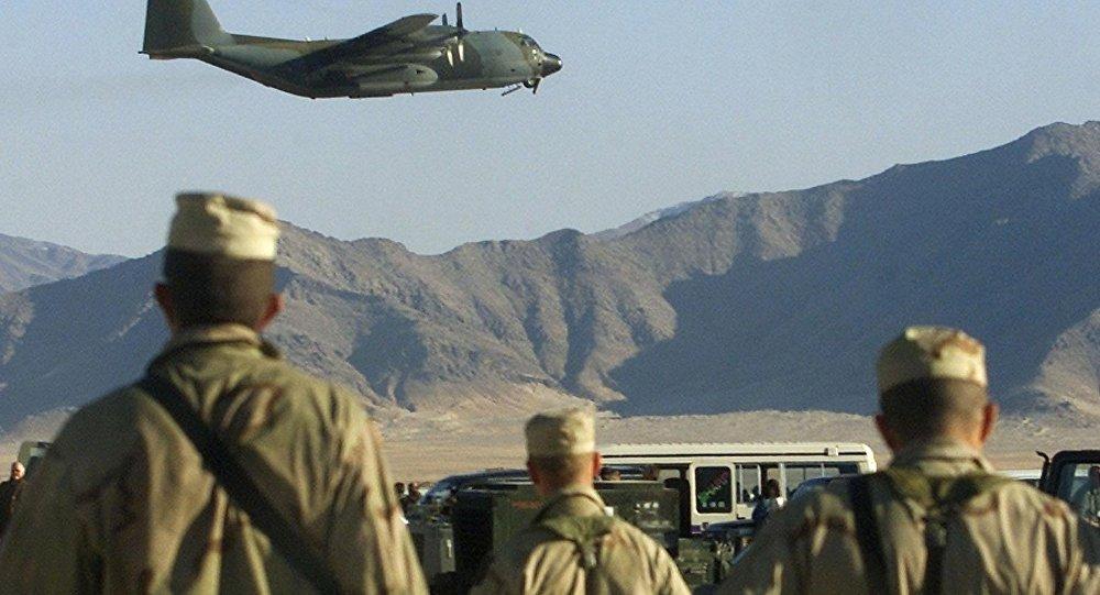 قاعدة اميركية في افغانستان