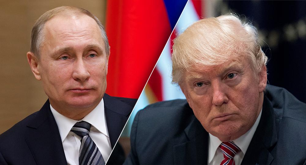 """Photo of بوتين وترامب """"وجها لوجه"""" في باريس"""