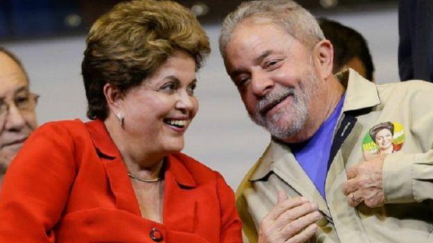 لويس إيناسيو لولا دا سيلفا وديلما روسيف