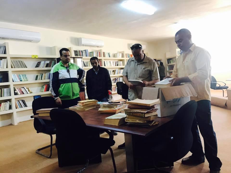 دار وهبي البوري الثقافية في مدينة بنغازي