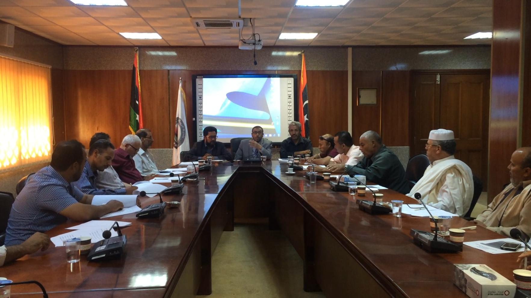مكاتب النشاط في جبل نفوسة تجتمع في غريان