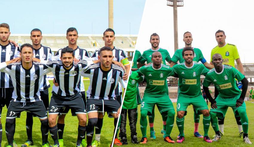 فريق الأهلي طرابلس و فريق المدينة