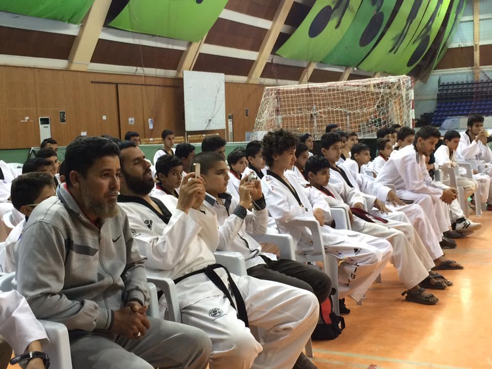 أبطال ليبيا في التايكوندو