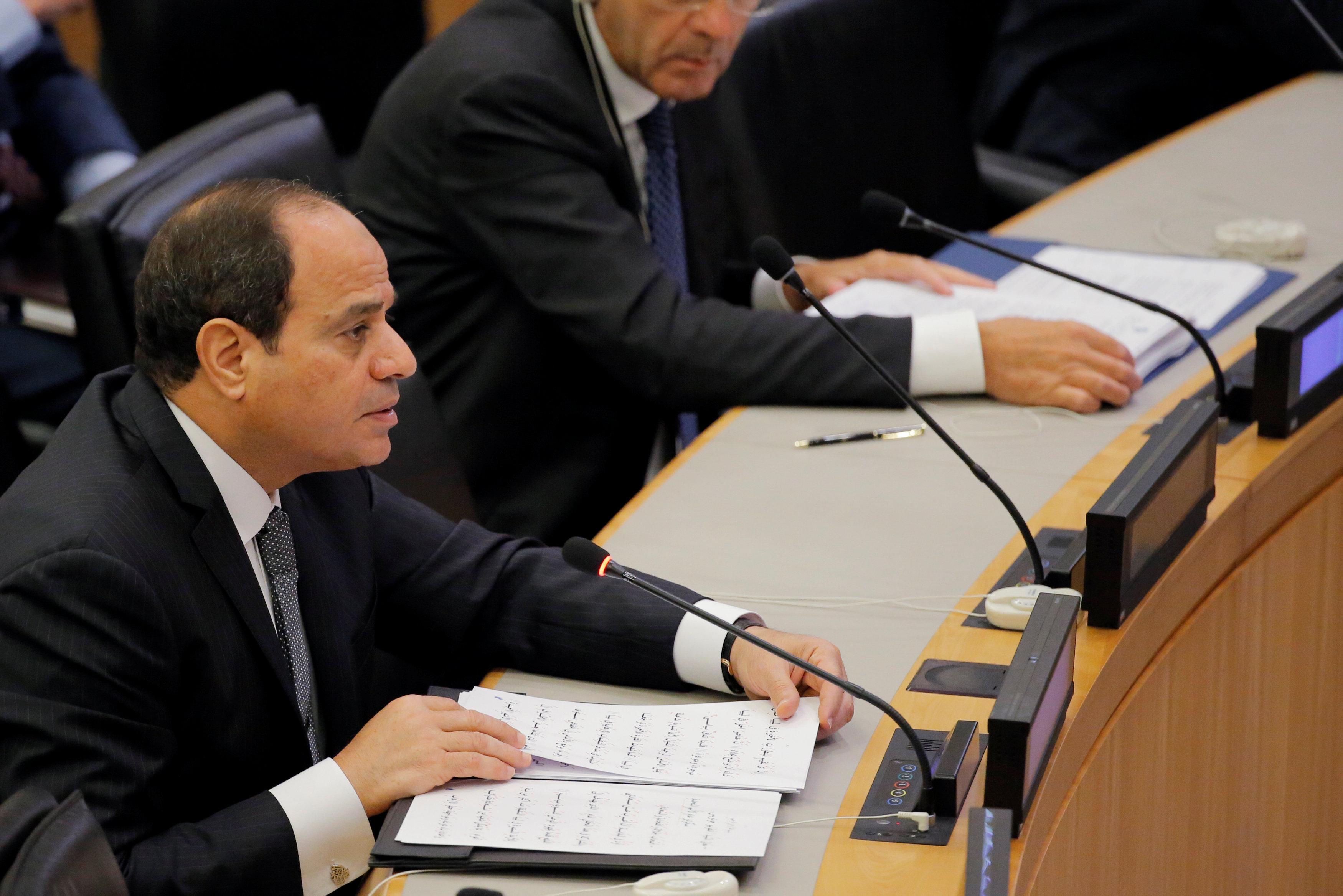 Photo of كلمة الرئيس المصري عبدالفتاح السيسي بشأن ليبيا