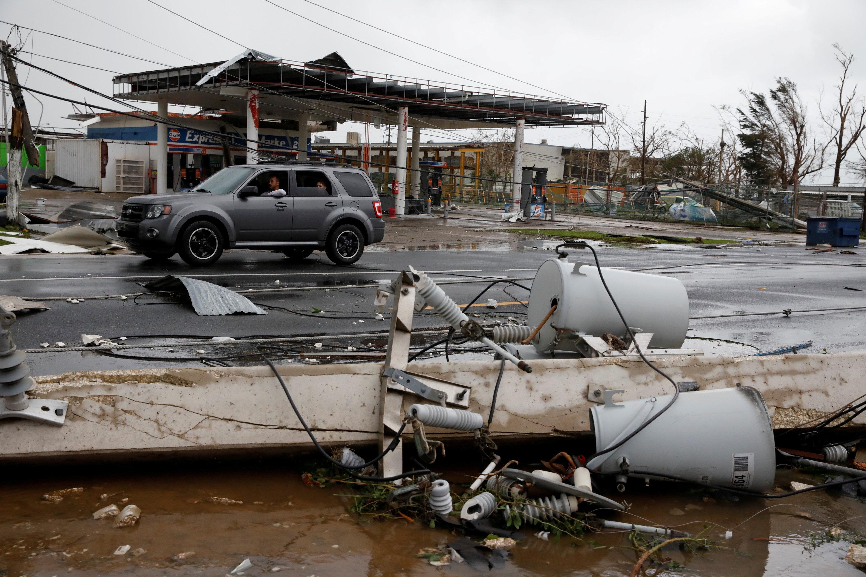 Photo of الإعصار ماريا يضرب جمهورية الدومنيكان بعد مروره ببويرتوريكو