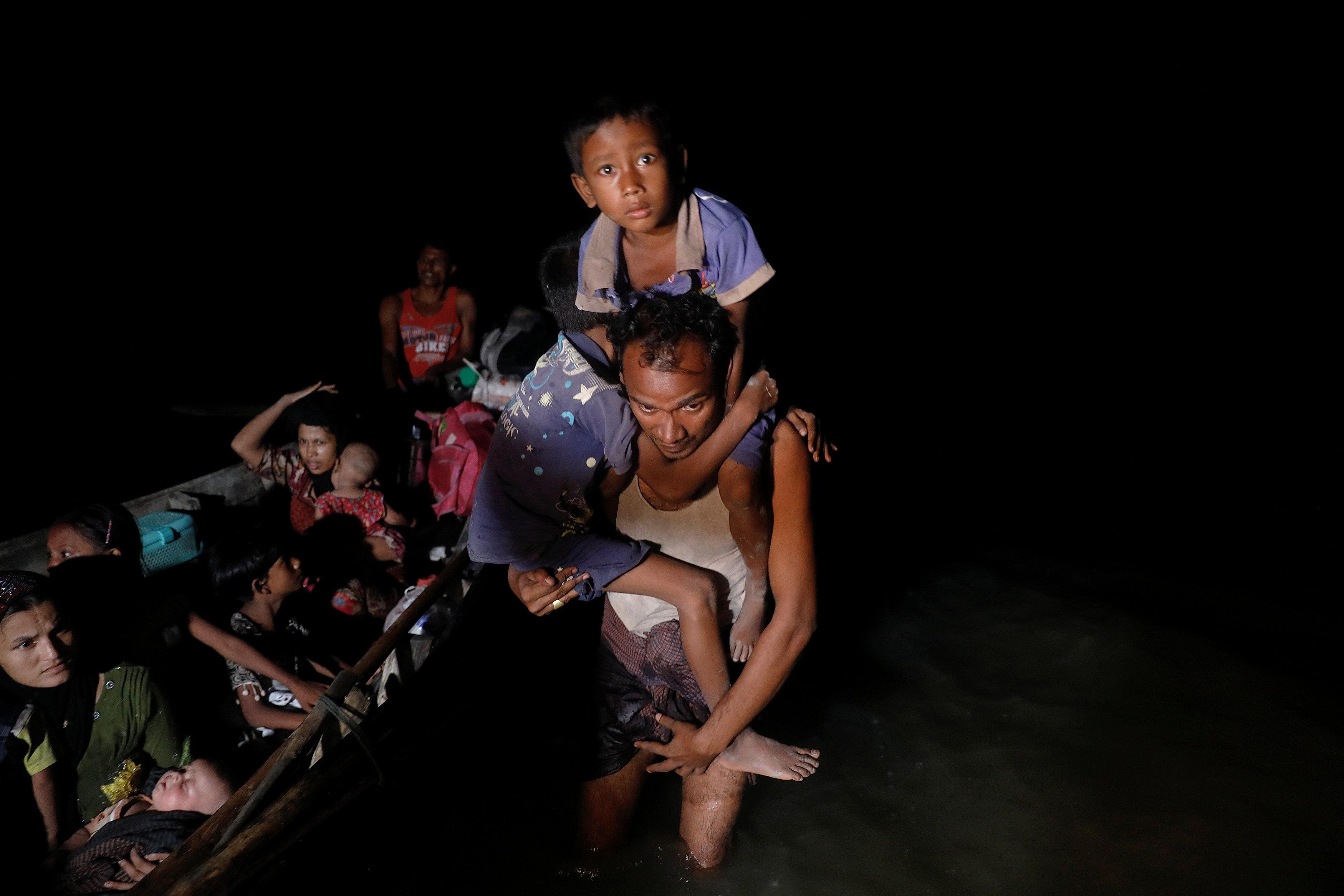 لاجئي الروهينجا