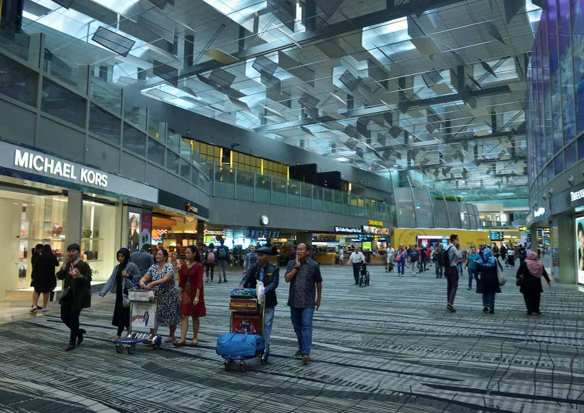 صورة لمطار تشانجي