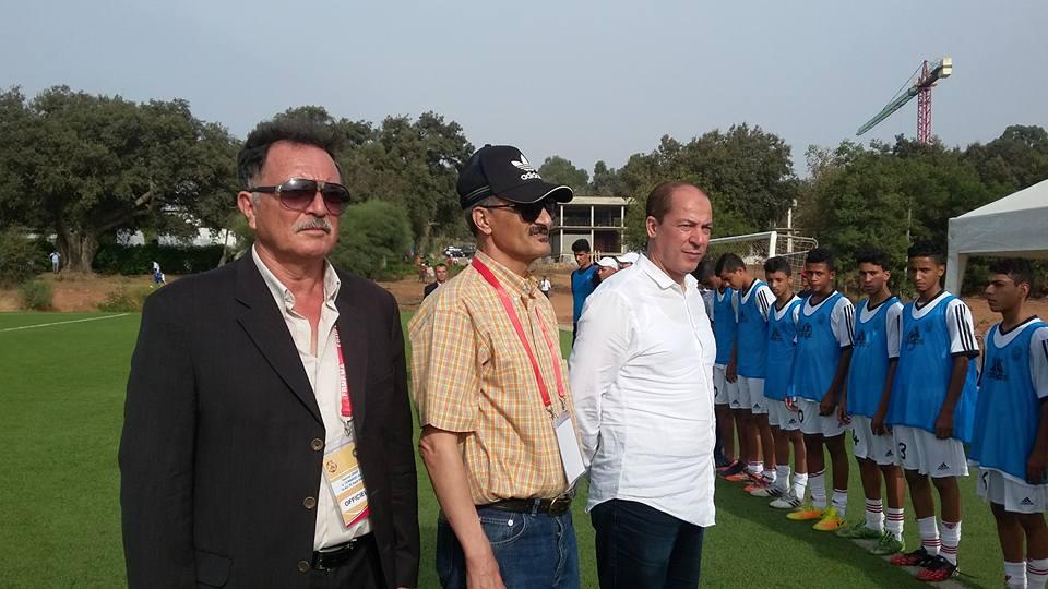 رئيس الاتحاد الليبي لكرة القدم جمال الجعفري