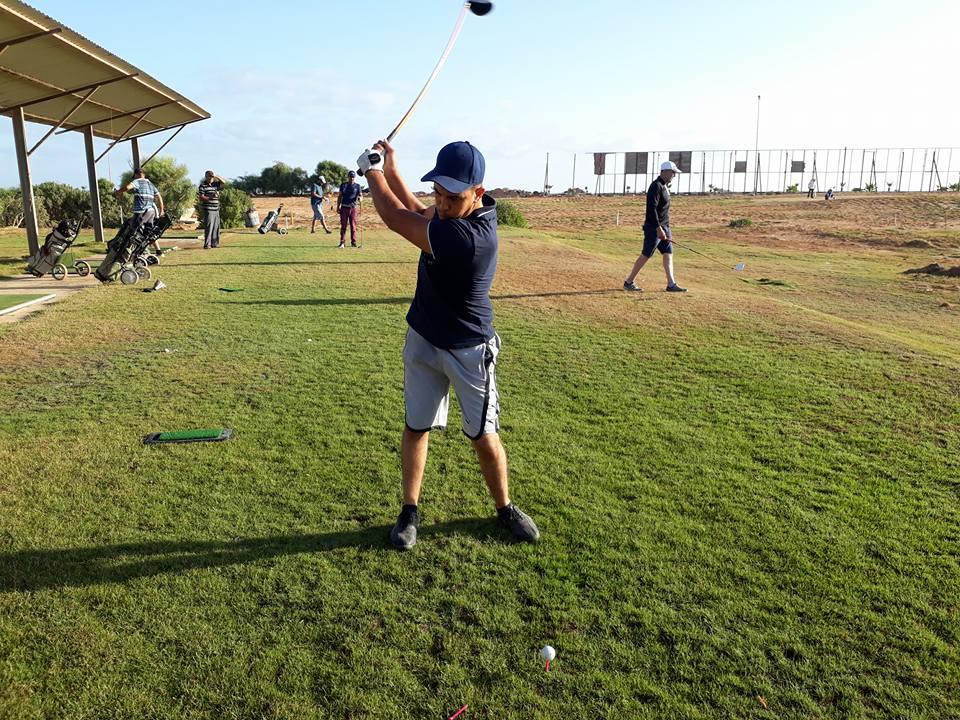 المنتخب الغولف