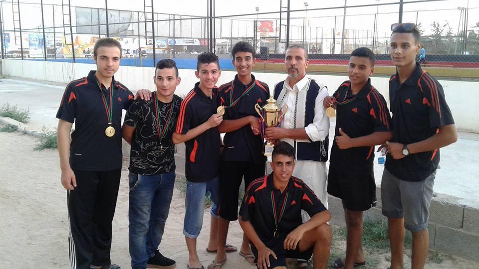 Photo of آمال الشموع أبطال المنطقة الوسطى لكرة اليد
