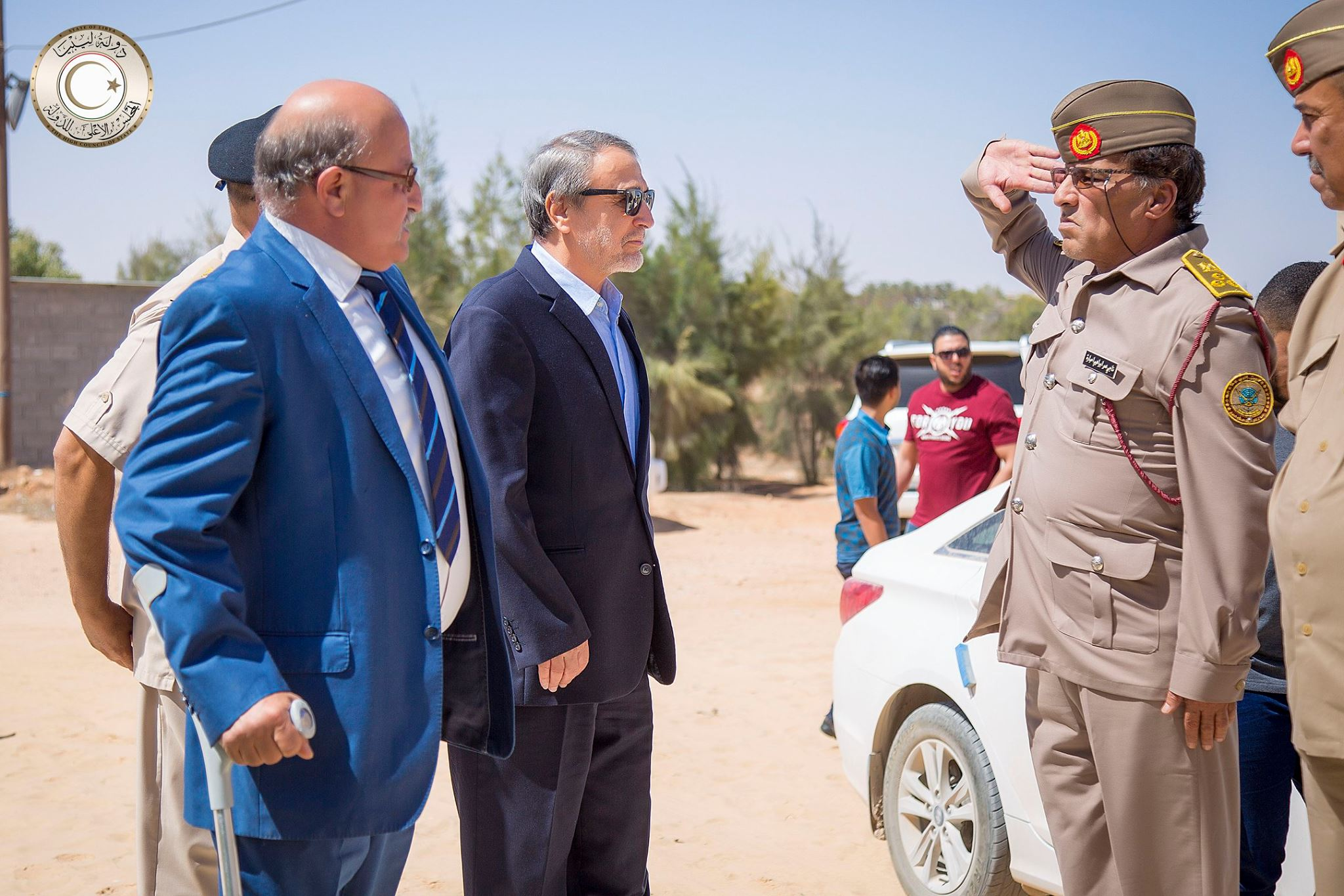 رئيس المجلس الاستشاري للدولة عبدالرحمن السويحلي
