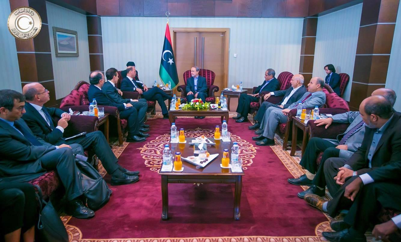 المفاوضات في تونس