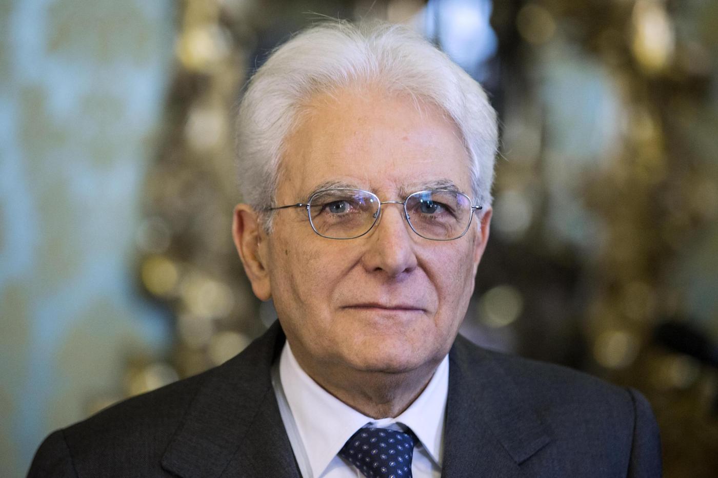 الرئيس الإيطالي سيرجو ماتّاريلا