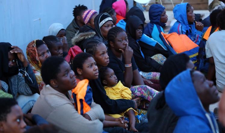 المهاجرون من أفريقيا