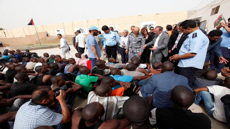 المهاجرين في ليبيا