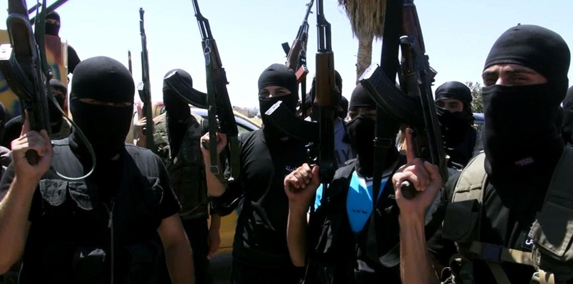 صفوف داعش