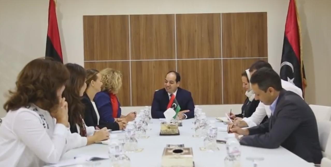نائب الممثل الخاص للأمين العام للأمم المتحدة في ليبيا ومدير صندوق الأمم المتحدة للسكان