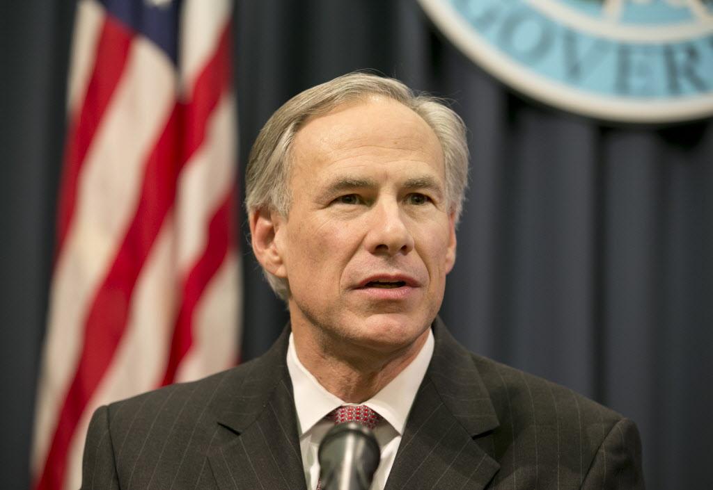 جريج أبوت حاكم ولاية تكساس الأميركية