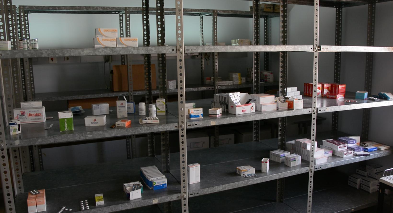 نقص الأدوية - مستشفى غدامس