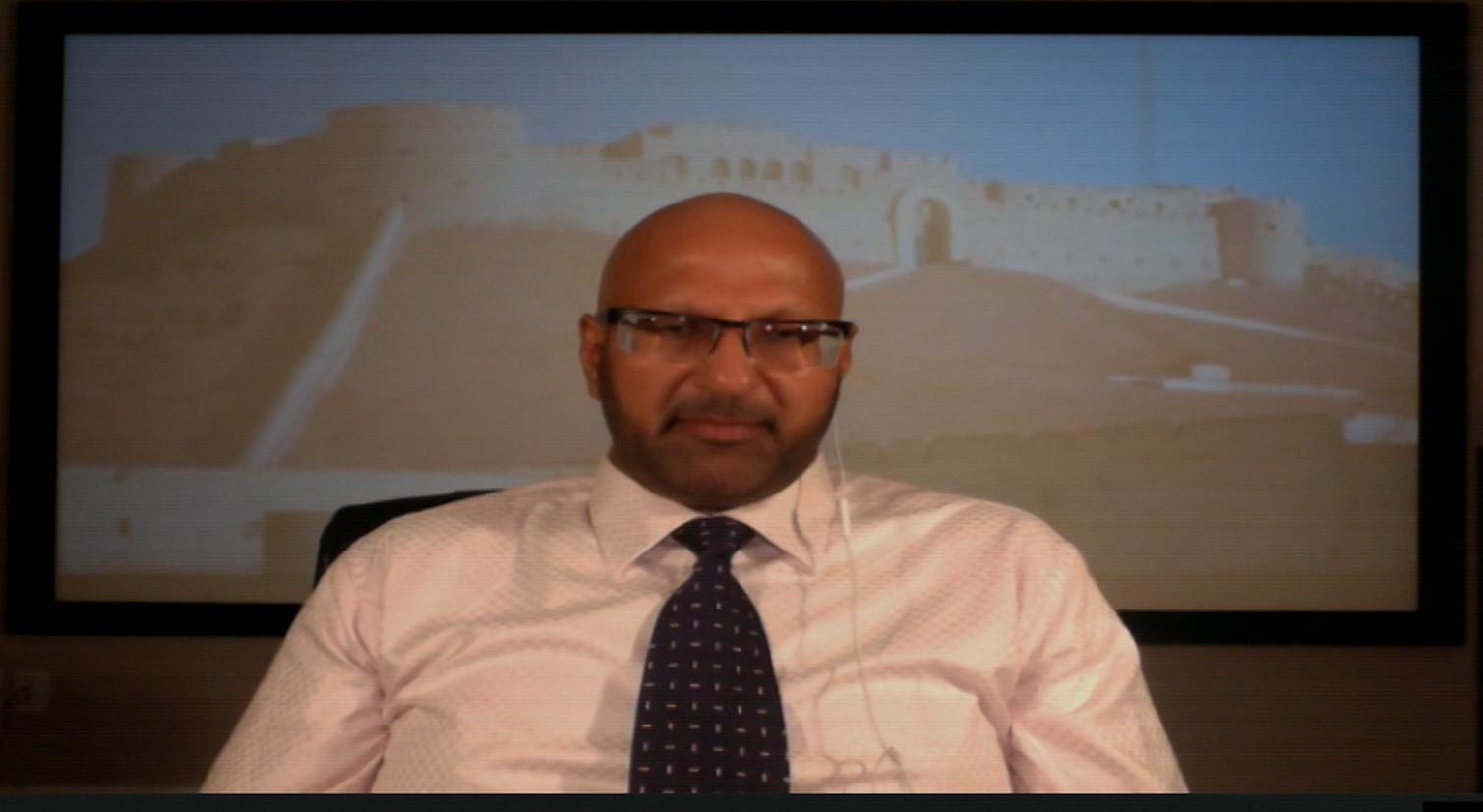 الكاتب والمحلل السياسي خالد الهوني