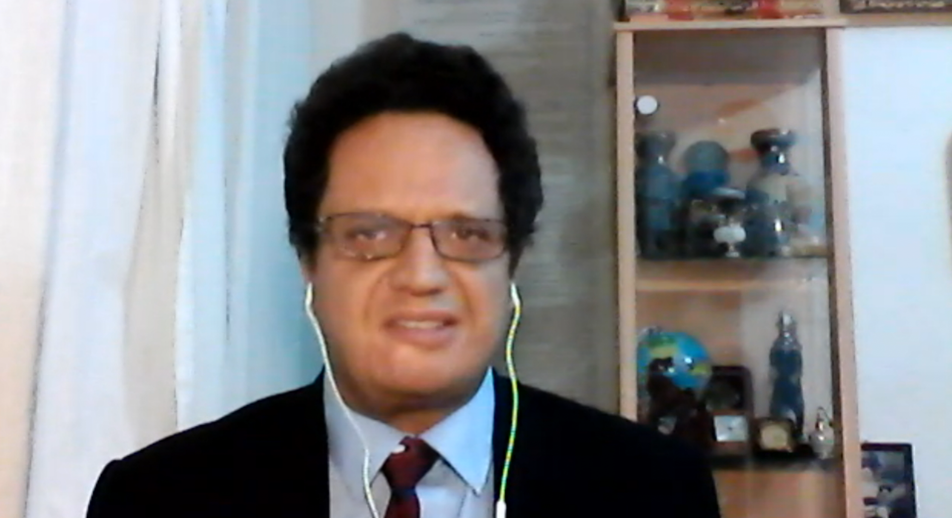 مدير المركز العربي للدرسات السياسية والاستراتيجية، د. رياض الصيداوي