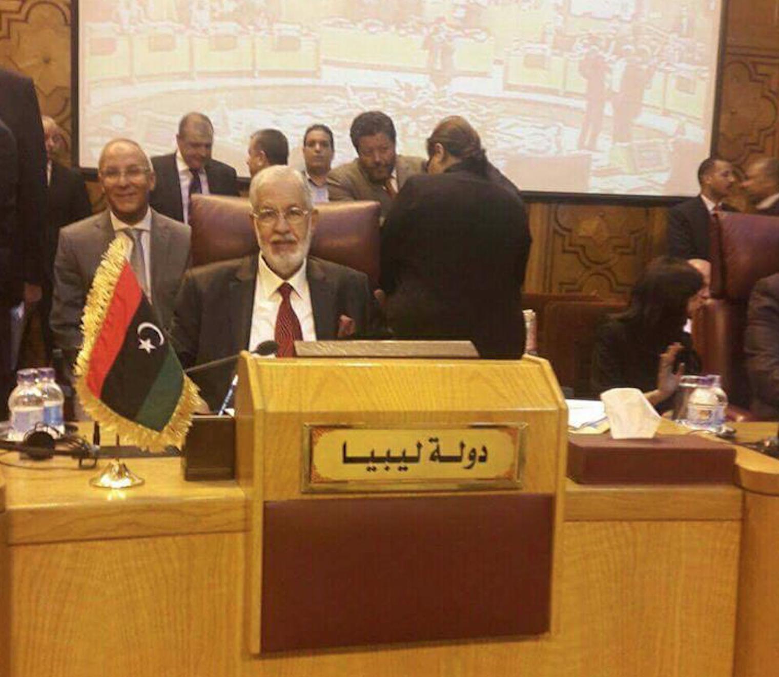 وزير الخارجة المسمى بحكومة الوفاق الوطني، محمد سيالة