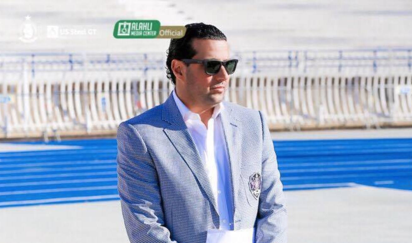 عضو مجلس إدارة نادي الأهلي طرابلس، أيمن حنيش