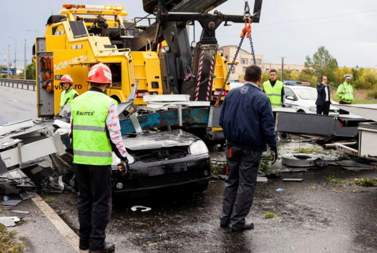 صورة عشرات القتلى والجرحى في عواصف غربي رومانيا