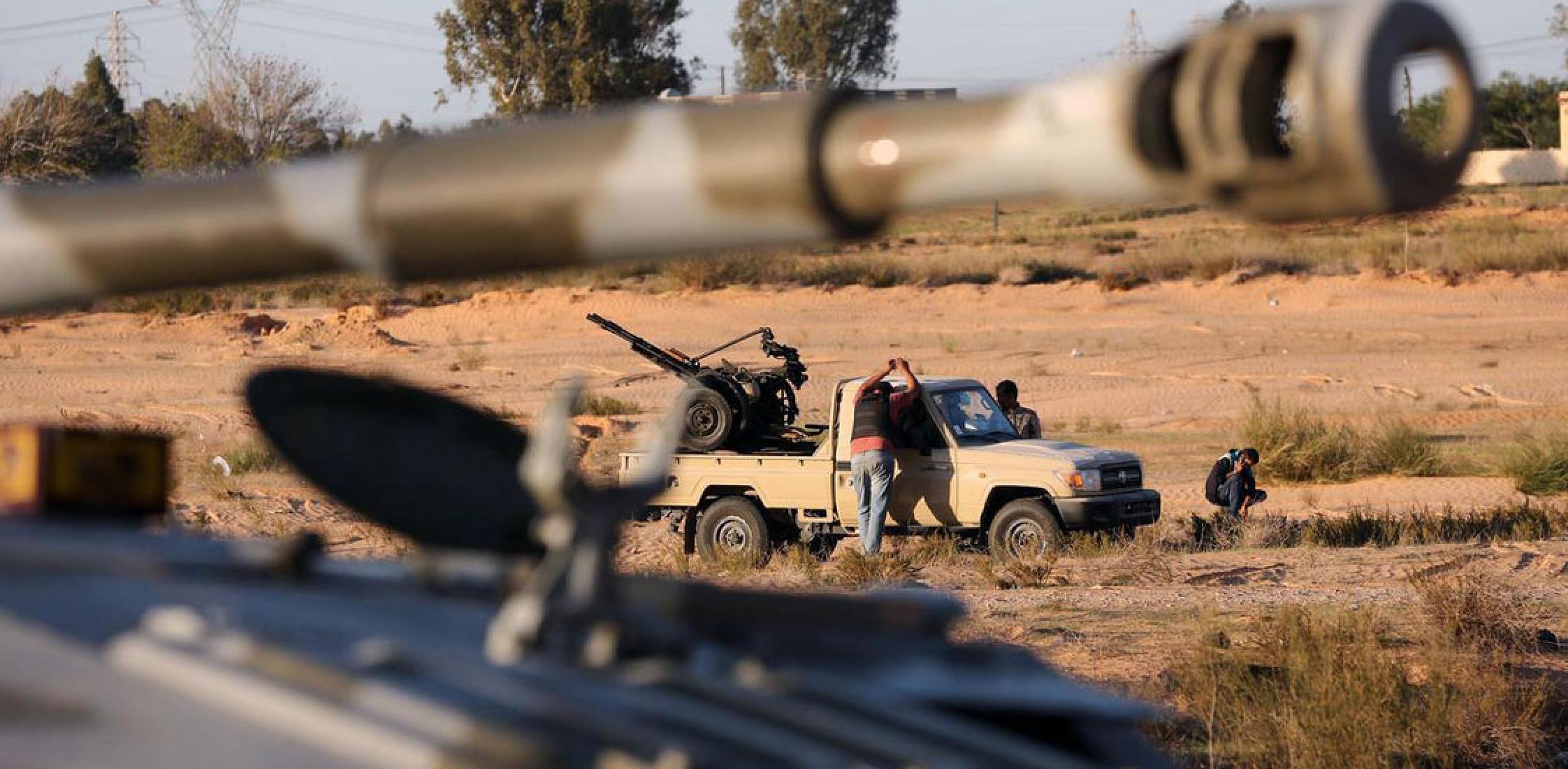 "Photo of كتيبة ""أنس الدباشي"": حكومة الوفاق وعدت بـ""العفو وتوفير الوظائف"""