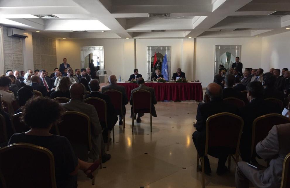 صورة موسى فرج: نحن هنا لدفع العملية السياسية إلى الأمام لاستقرار ليبيا